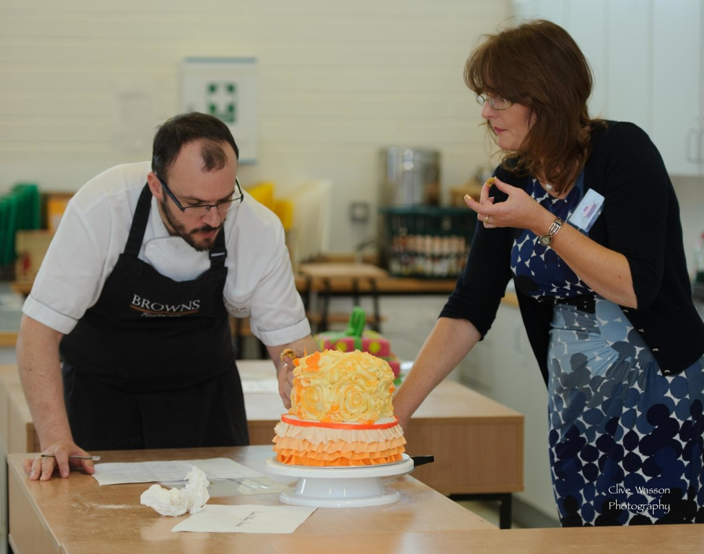 Loretto School's Baking Competition Finals. Photo- Clive Wasson