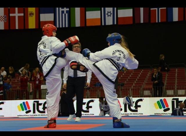 Ciara Fitzsimons 2016 Taekwon-Do World Champion