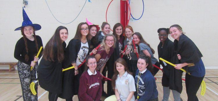 Quiddith Match – 6th Yrs V Staff!