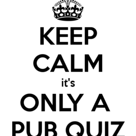 St. Patrick's  Weekend Pub Quiz