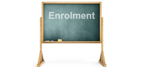Enrolment for First Year 2019