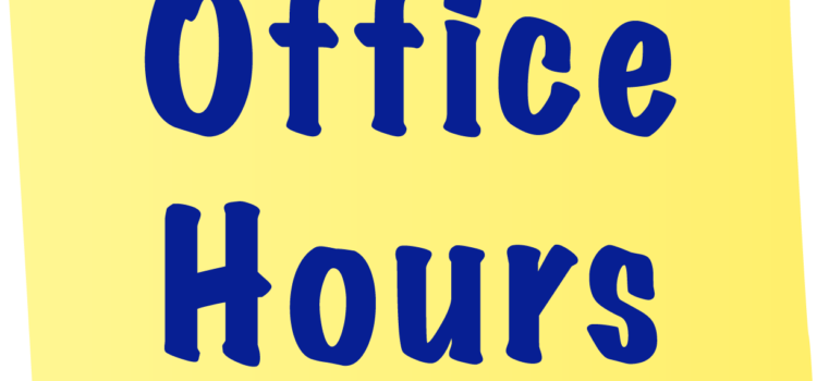Office Opening Hours – January Lockdown 2021